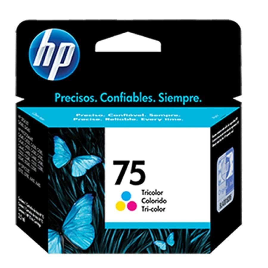 Cartucho Hp 75 Tricolor