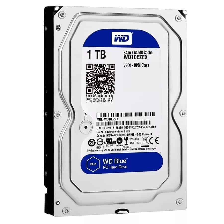 Disco Rigido 1 Tb Western Digital Blue