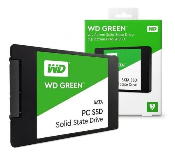 """Disco Solido SSD 240Gb Western Digital Green 2.5"""" Sata 3"""