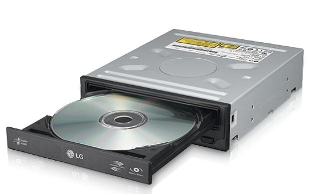 Legrabadora DVD-RW LG 24x SATA