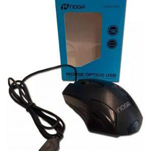 Mouse USB Negro Noga NG-460 1000 dpi