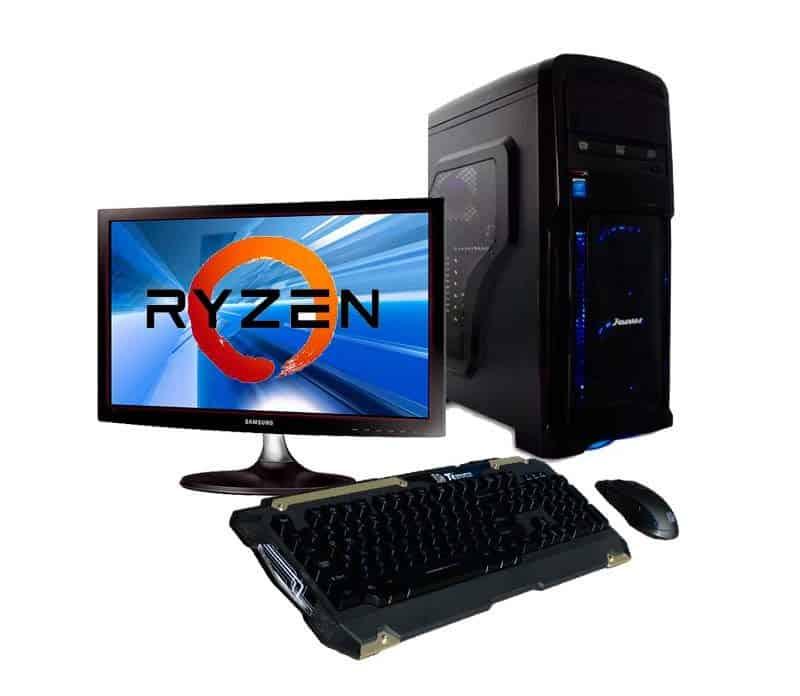 PC Gamer Starter Ryzen 3 gen3 SSD - Ahora 12 Ahora 18