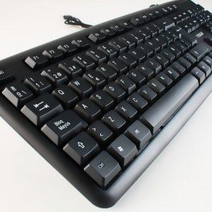 Teclado USB NKB-78011 Negro