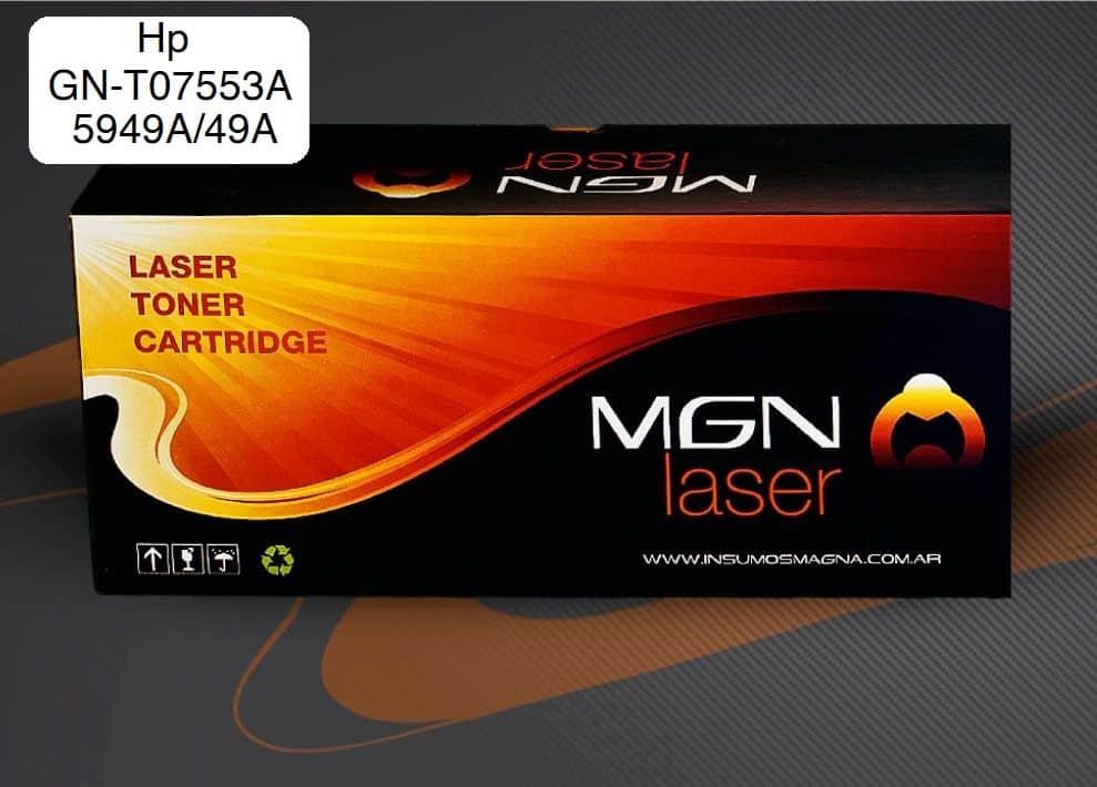 Toner Negro AlternativoHP GN-T07553a/5949a 49a